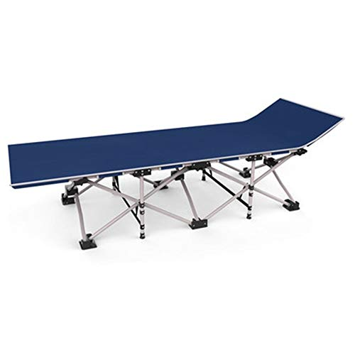 Vouwbed Camping Cots, Enkel Eenvoudig Camp Bed Versterkte Stalen Buis Stapelbed 190cm