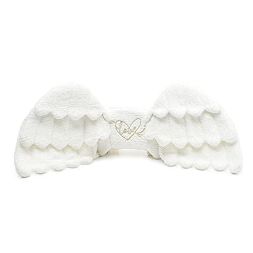 zyxzly Angel Wings Peluche Backpack-Soft Kawaii Zaino Costume Cosplay Plush Casual Borsa a Tracolla
