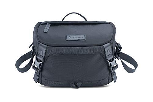 Veo GO 24M BK - Bolsa fotográfica de Hombro, 23x11x16cm, Negro