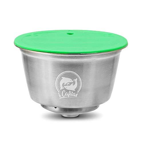 YGB Navulbare Koffie Capsule, RVS Herbruikbare Koffie Capsule Compatibel met Nescafe Koffiemachine voor Restaurants, Bedrijven, Huizen, Etc
