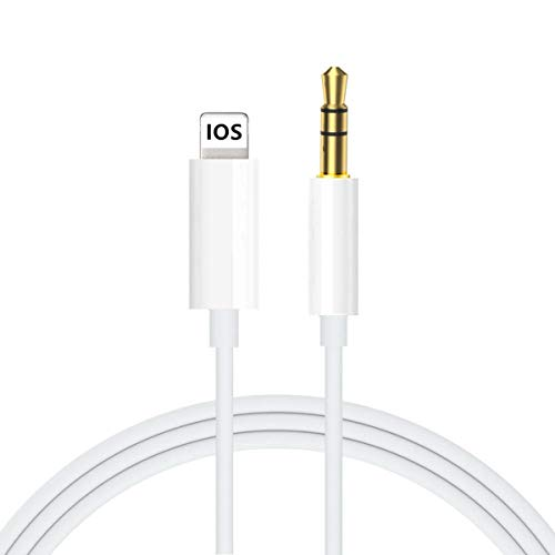 Aux Cord for iPhone, Ubluker 3.5mm Aux Cable for Car Compatible with...