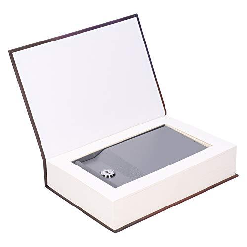 Caja de seguridad Caja de ahorro de libros de simulación con llave para efectivo Moneda Tarjetas bancarias Bloqueo de joyas Caja de seguridad Caja de seguridad Caja de seguridad Construcción Caja fuer