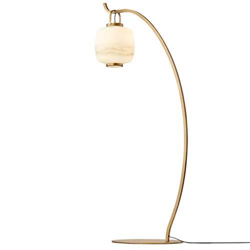 Lámpara de pie creativa Pesca Linterna Lámpara de cristal blanca clásica creativa del estilo chino lámpara estándar for el estudio y la sala de estar de la decoración 70' Lámpara de Suelo de personali
