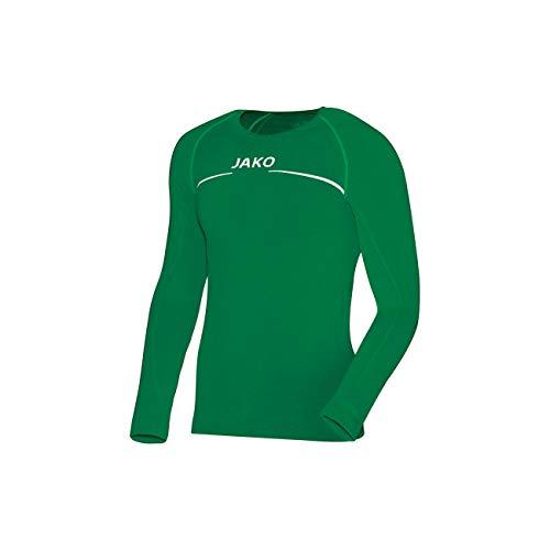 JAKO Longsleeve Comfort - Herren Langarmshirt,grün (sportgrün), L