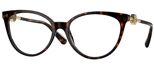 Versace MEDUSA CRYSTAL VE 3298B Dark Havana 53/17/140 Damen Brillen