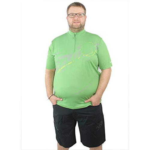 Gonso Rad-Trikot Herren Bike Fahrrad Shirt, Alle Größen, Grün, 3XL