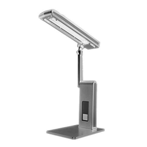 lámpara de mesita de noche Ajustable de la lámpara de escritorio del brazo de lectura Temperatura Estudio lámparas de color 5000K for estudiantes Protección for los ojos de los niños Dormitorios Mesil