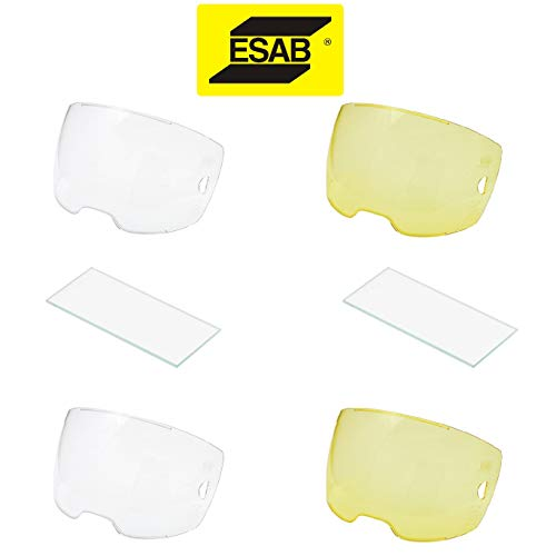 Variety Lens Pack for Esab Sentinel A50 Welding Helmet (Amber and Clear)