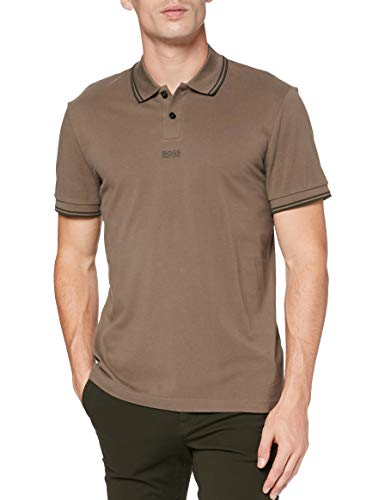 BOSS Herren Pchup Polo Shirt, Beige/Khaki (250), XL EU