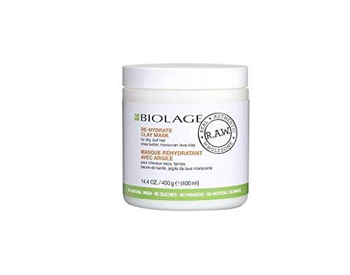 Biolage Masque réhydratant avec argile pour cheveux secs, ternes 400 g