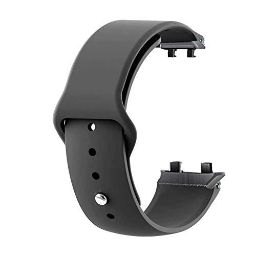 Aerku Armband Kompatible für Oppo Watch 41MM Damen Herren, Silikon Ersatz Fitness Armband und Uhrenarmband Sportarmband und Wristband Armbänder für Oppo Watch 41MM - Schwarz