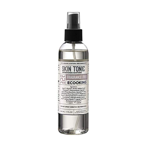 Ecooking Face Mist/Skin Tonic Fragrance Free 200ml