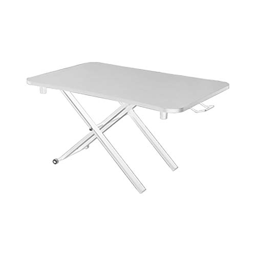 WYB Stehtisch Computertisch Spieltisch Klapptisch Laptoptisch Stehtisch Arbeitstisch Weiß