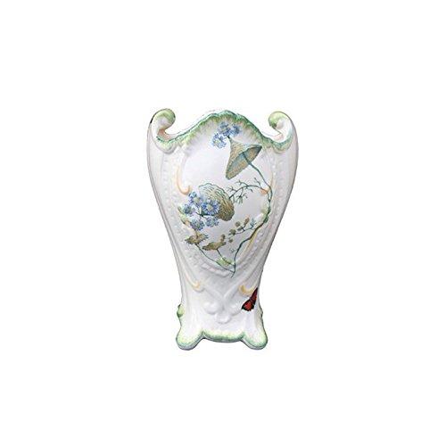 Faïencerie de Niderviller ~ Grand Vase rocaille Folies botaniques faïence