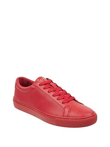 GUESS Factory Men's Barrette Lace-Up Low-Top Sneakers