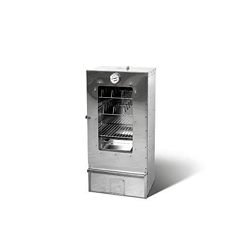 Smoki-Räuchertechnik Multifunktions-Räucherofen aus Cr-Edelstahl mit Sichtfenster Bild