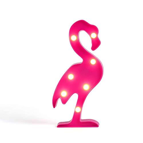 Tischleuchte Flamingo LED Pink Tischlampe Dekolampe Nachtlicht (Wandlampe, Dekolicht, 30 cm, Partylicht)