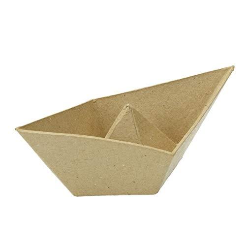 Schale, Faltschiffchen, 18 x 10 x 7 cm,