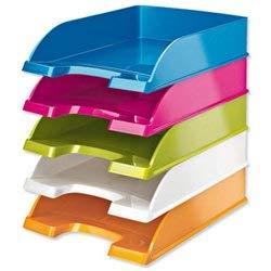 Leitz WOW 52264099 - Vaschetta portacorrispondenza, A4, Colori assortiti, 1 pezzo