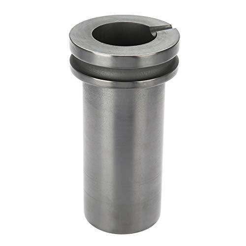 Crogiolo di grafite di fusione, crogiolo di grafite di colata, con eccellente resistenza alla corrosione, per leghe metalliche per esperimenti domestici(1KG)