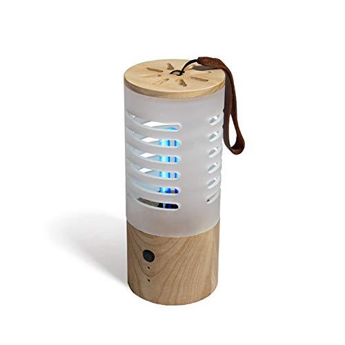 El ozono UV ultravioleta germicida esterilización por luz, recargable portátil móvil desinfectante UV Desinfectar luz de la lámpara de esterilización USB para hogar Armario de coches Área de mascotas