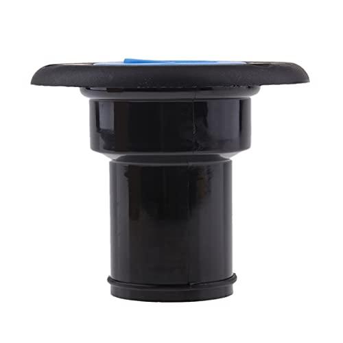 QIANGQIANG Very gondhh Bootsdeck Füller - Benzin/Kraftstoff/Gas/Wasser/Diesel - Tankdeck Füllkappe (Color : B-Lack)