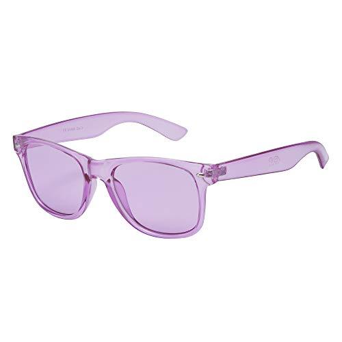 Farbtherapie-Brille – Chakra Stimmungslicht Therapie Chromotherapie Brille von ASVP Shop (Violett)