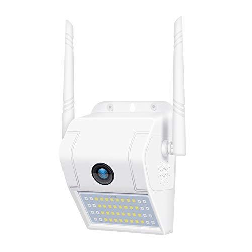 DP11 2 Megapixel Outdoor Impermeable Wall Wall Light Cámara IP inalámbrica - Soporte Múltiple Visión Nocturna y teléfono móvil Monitoreo Remoto y detección de Movimiento y Alarma Lihaihua