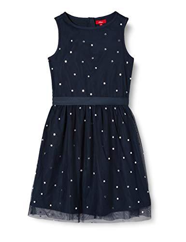s.Oliver Junior 401.12.002.20.200.2021982 Kleid, Mädchen, Blau 170 REG