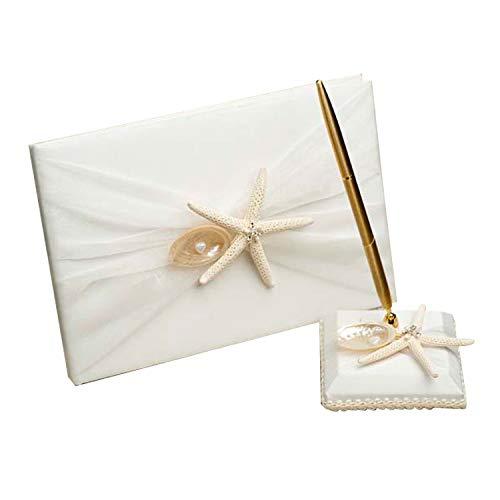 Luxus Chiffon Hochzeitsbuch/Gästebuch / Beach Style