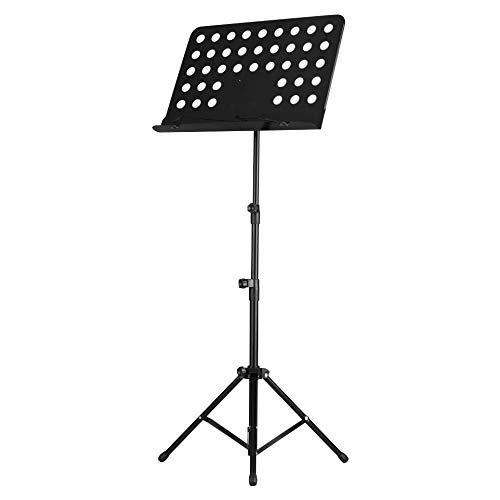 SNOWINSPRING Tragbare Metall Noten St?Nder Abnehmbare Musik Instrumente für Klavier Violine Gitarre Noten Gitarren Teile Zubeh?R