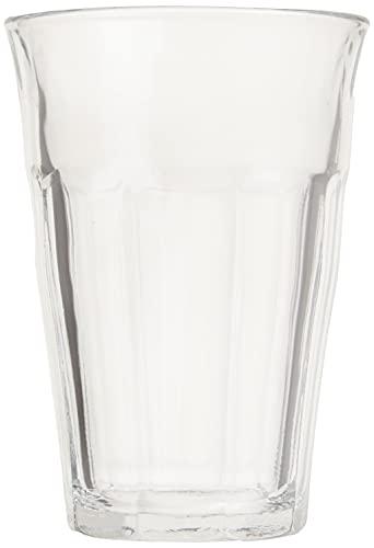 DURALEX 1029AB06 / 6 Vidrio de agua Picardie sin marca de llenado, 360 ml, paquete de 6