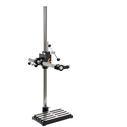 WABECO Bohrständer Fräsständer BF1244 vertikal/horizontal Säule 1000 Ausleger 500 mm