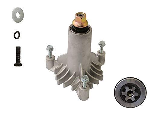 SECURA Messerturm 6-Stern kompatibel mit Craftsman 917.254212 Rasentraktor