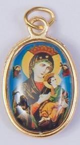 Nuestra Señora Medalla. Nuestra Señora de perpetuo Socorro.