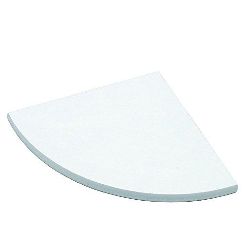 Element System 10756-00006 Corner Holz-Regaleckboden 18/19 mm, Verschiedene Abmessungen, Weiß, Kiefer, Fichte
