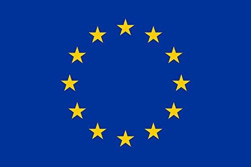 Durobol Bandera de Europa- la Unión Europea 150 x 90 cm Satén Europe Flag