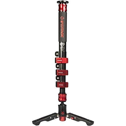 iFootage COBRA2 C180 10kg Weight Bear Lightweight Camera Monopod 180CM Carbon Fiber Portable DSLR Video Monopod/Adjustable Camera Pod for Ronin S Crane 2 Gimbal