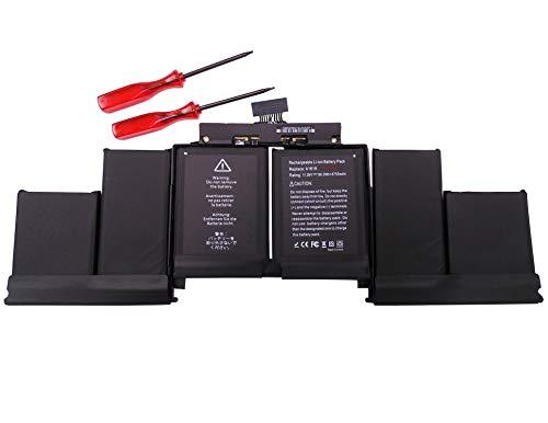 11.36V 99.5Wh 8755mAh A1618 A1398 Laptop Battery for Apple MacBook Pro Retina 15-inch Mid 2015 A1398 (EMC 2909) A1398 (EMC 2910) MJLQ2XX/A BTO MJLQ2XX/A BTO MJLQ2XX/A MJLU2XX/A MJLT2XX/A