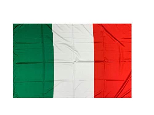 Perseo Trade srl Bandiera Italiana 100 * 140 con asola per Inserimento Asta Made in Italy