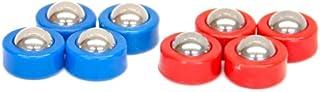 Carrom Shuffleboard Equipment Set, Red/Blue