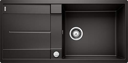 Blanco Metra XL 6 S-F Silgranit PuraDur schwarz