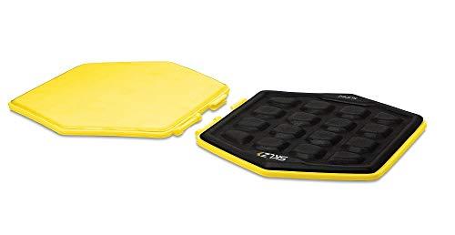 SKLZ Trainingspad Slidez 2er-pack, gelb-Schwarz, One Size