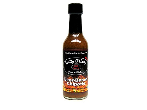 Scotty O'Hotty Beer-Bacon Chipotle Hot Sauce