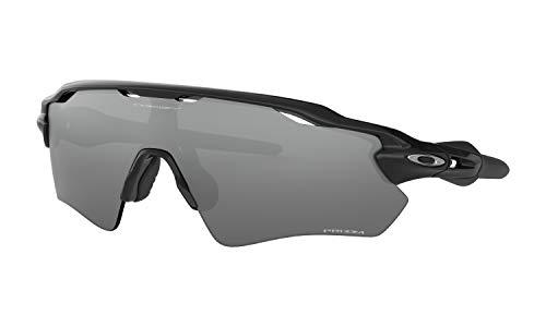 Oakley Radar EV Path Sunglasses Polished Black with Prizm Black Iridium Lens + Case