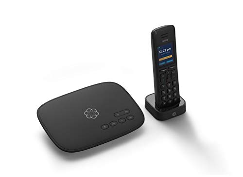 Ooma Telo VoIP Free Internet Home Phone Service and HD3 Handset. Affordable landline replacement. Unlimited nationwide calling. Low international rates. Answering machine. Option to block Robocalls