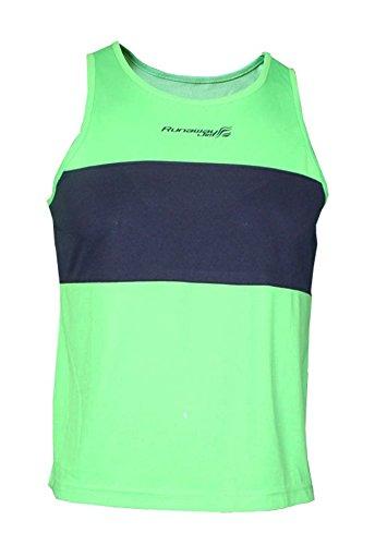 Softee Débardeur à Bretelles Running Filipides Runaway Jim% 2FMarino/6 Enfant Vert Taille 4
