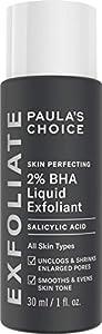 Paula's Choice Skin Perfecting 2% BHA Liquid Exfoliant - Face Exfoliating Peel Fights Blackheads, Breakouts & Enlarged Pores - with Salicylic Acid - Combination, Oily & Acne Prone Skin - 30 ml from Paula's Choice LLC