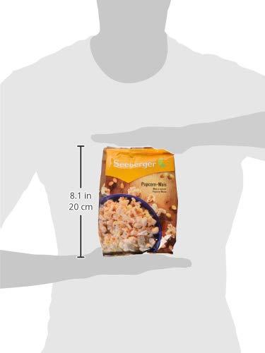 Seeberger Popcorn-Mais, 10er Pack (10x 500 g Packung) - 3