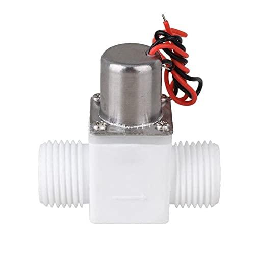 liangzai 1/2 'DC 3 V válvula solenoide de control de agua de plástico válvula de pulso eléctrica ajuste para grifo hilarity